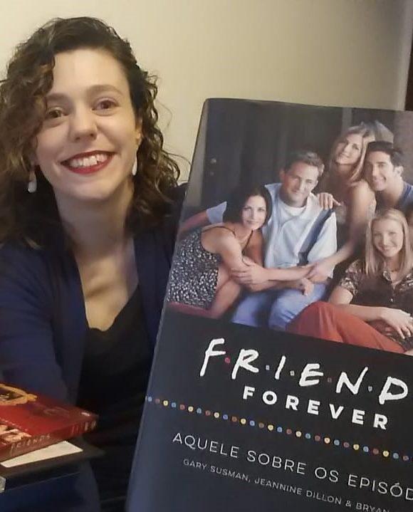 Aquele sobre a edição do livro de Friends